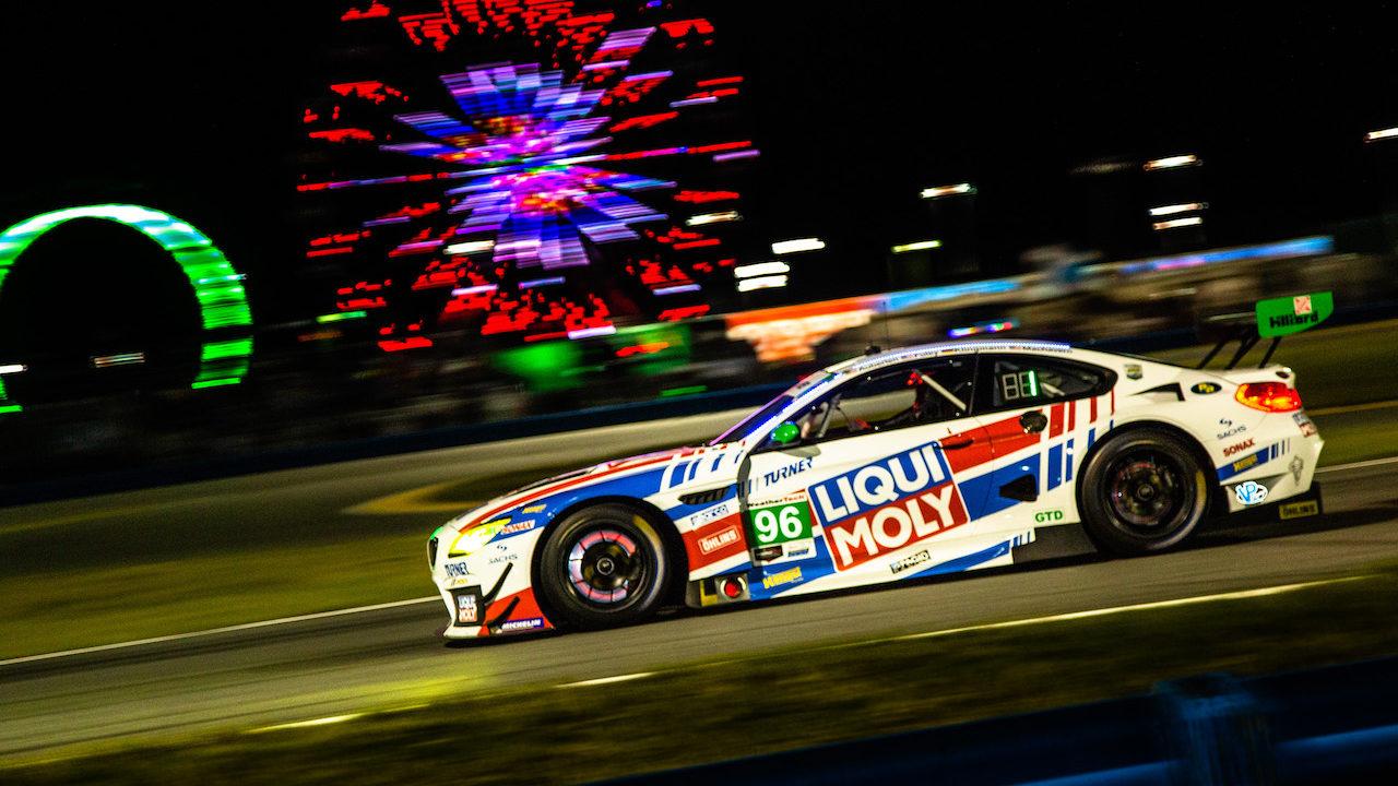 #96 Turner Motorsport, BMW M6 GT3, GTD; Jens Klingmann (DEU), Bill Auberlen (USA), Robby Foley (USA), Dillon Machavern (USA)