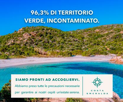 96,3% di territorio verde, invontaminato
