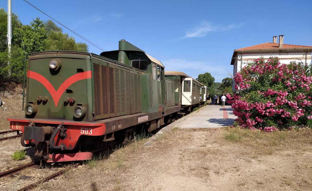 vecchia stazione di Arzachena