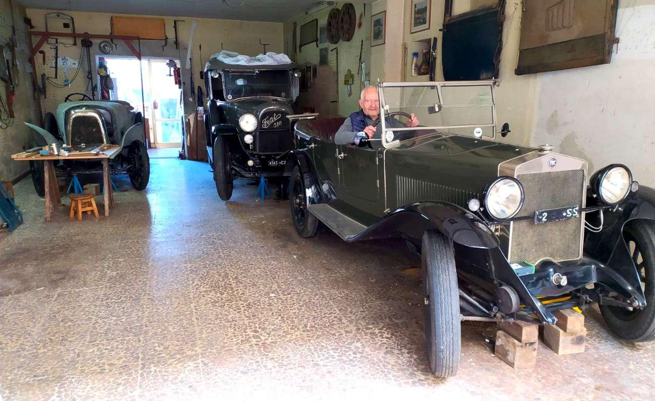 Fiat 509 auto d'epoca