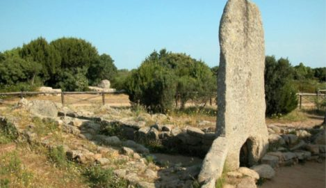 La Tomba di giganti Li Mizzani